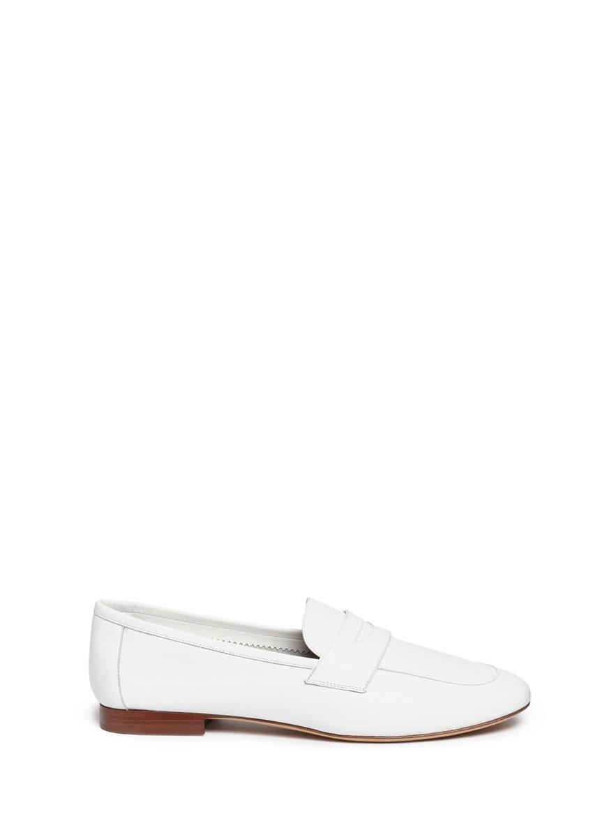 Mansur Gavriel Leathers 'Classic' leather penny loafers