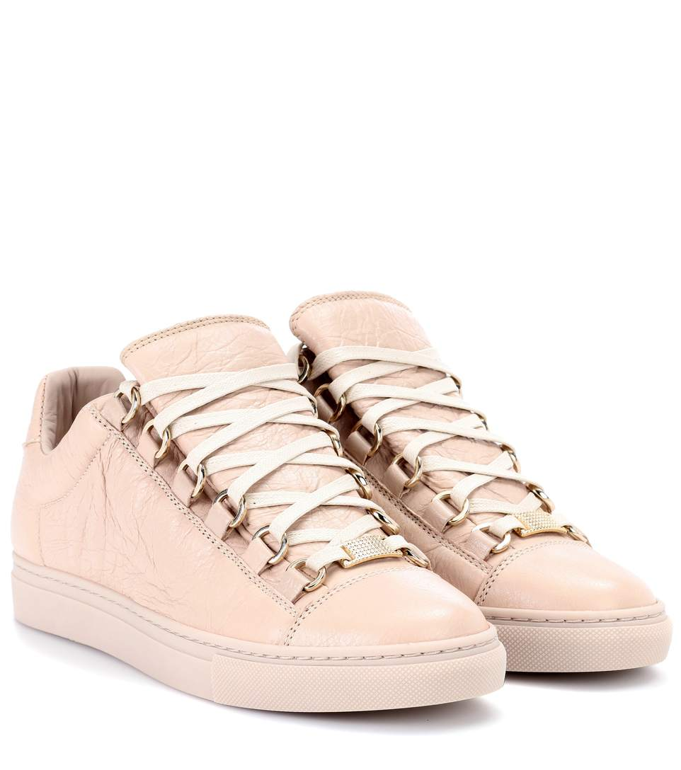 ARENA LEATHER SNEAKERS