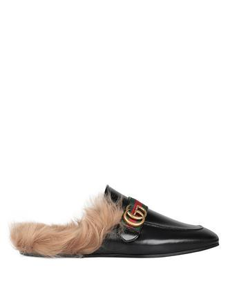 Gucci Leathers Princetown leather slipper
