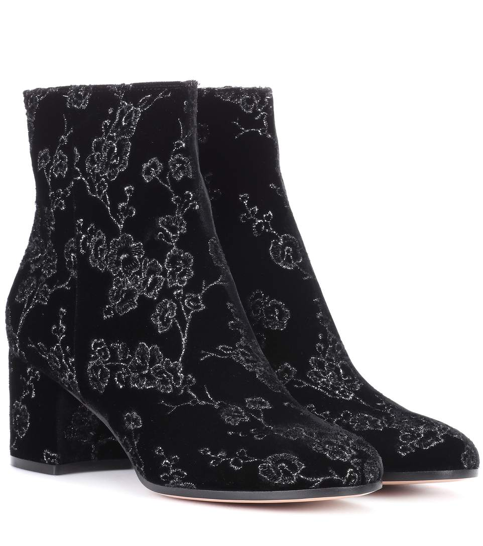 EXCLUSIVE TO MYTHERESA.COM- MARGAUX VELVET ANKLE BOOTS