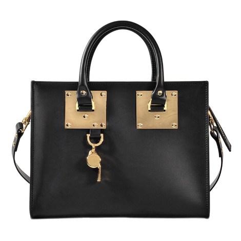 Sophie Hulme Albion medium box tote bag
