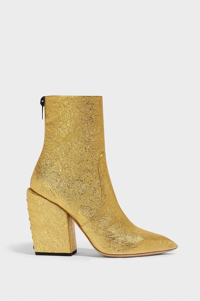 Petar Petrov Solar Cracked-Leather Ankle Boots