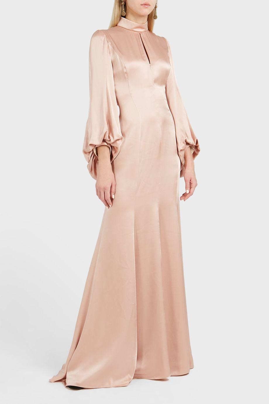 Andrew Gn Wide Sleeve Dress