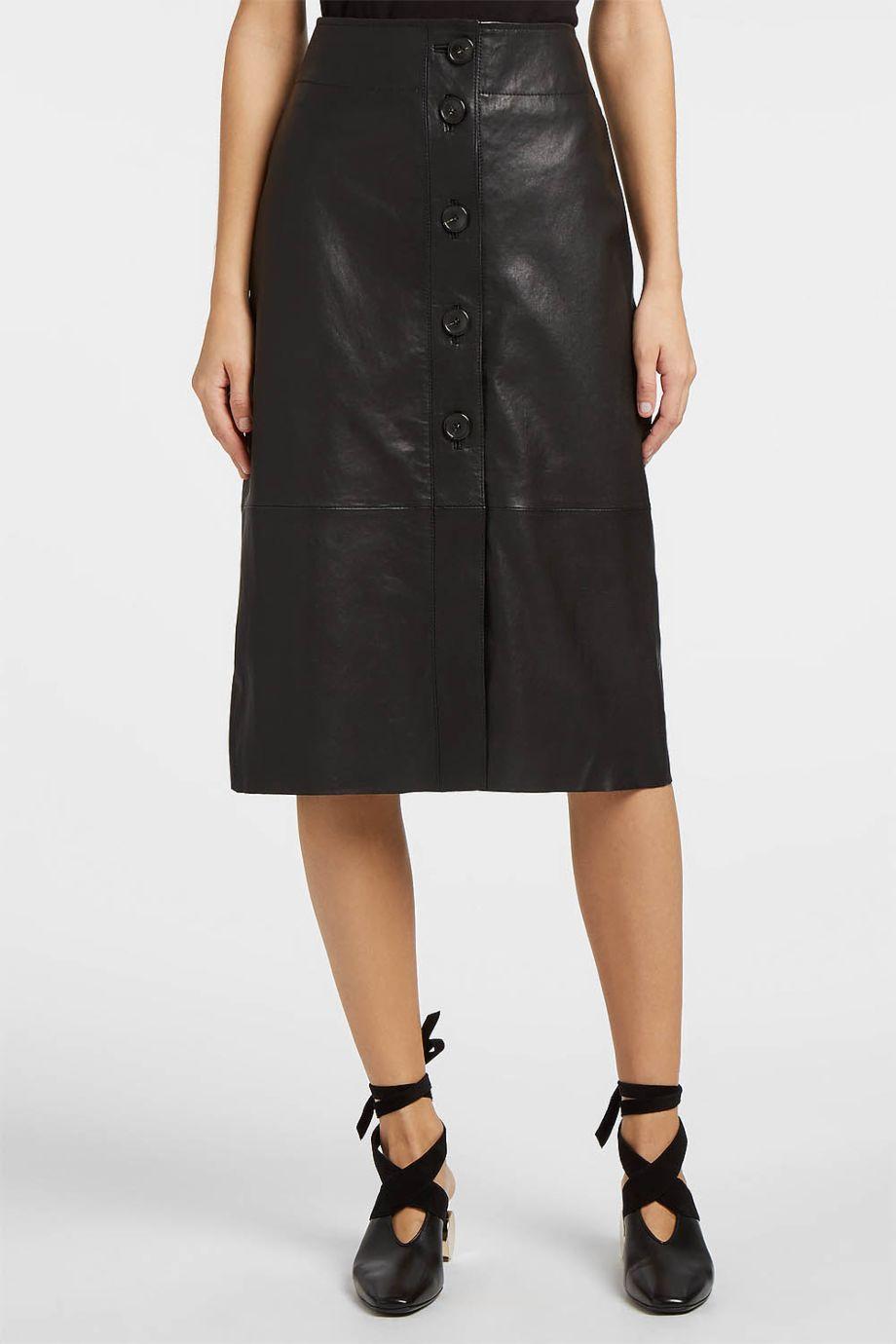 Forte Forte  Leather Skirt