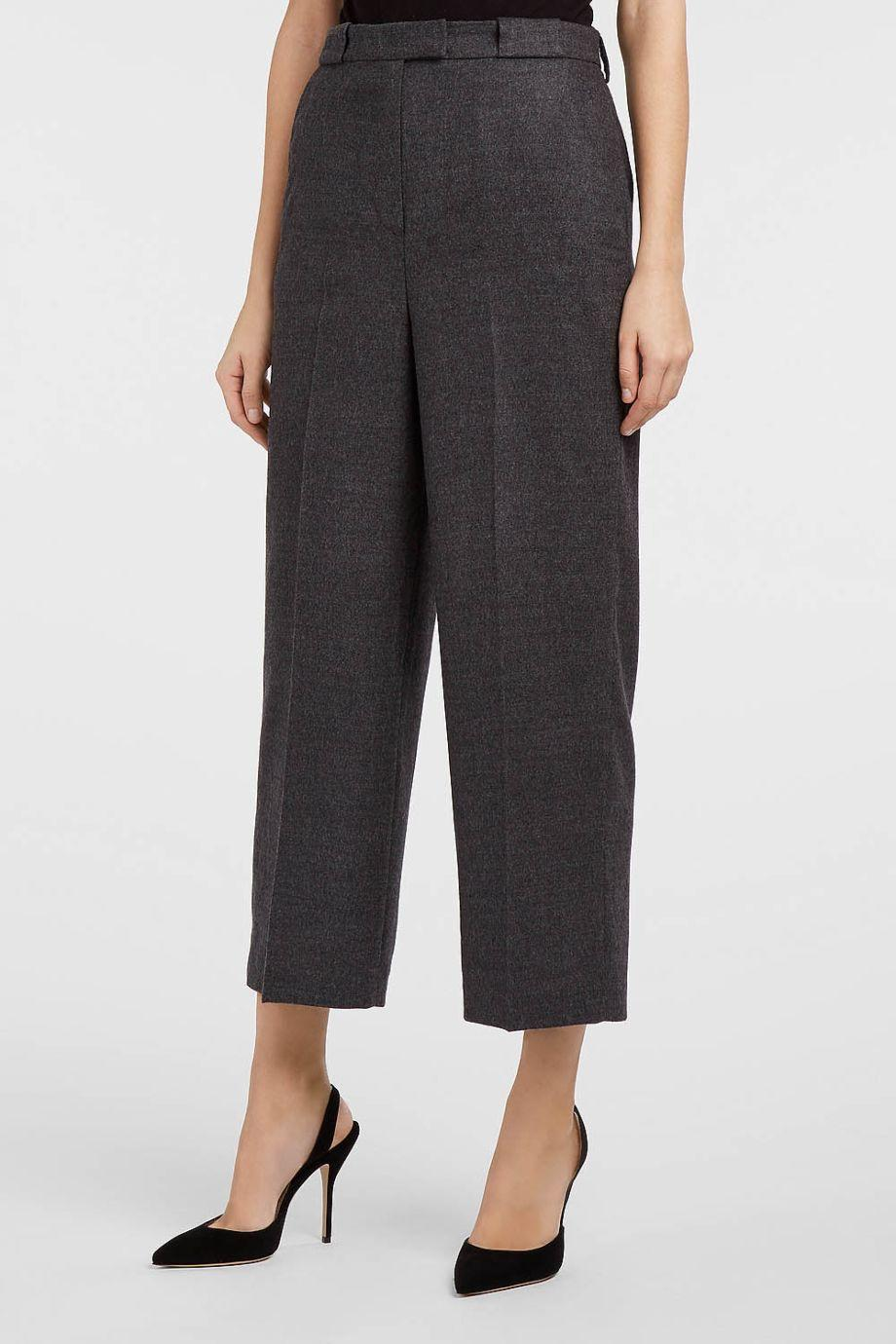 Paul & Joe Sister Kalin Cropped Wool-Blend Felt Trousers