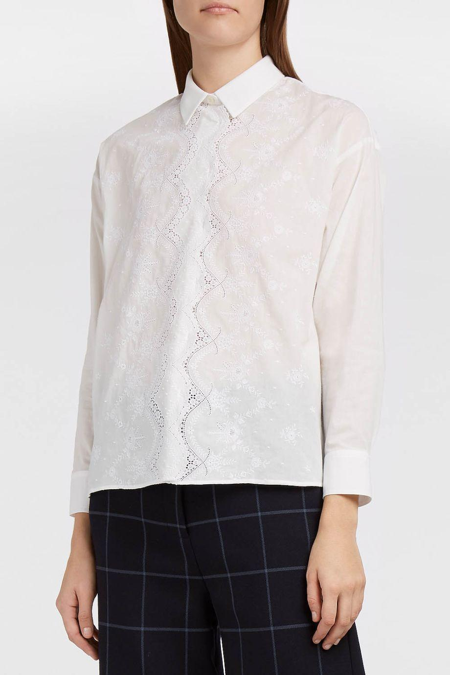 Paul & Joe Sister Marigny Cotton-Blend Broderie Anglaise Shirt