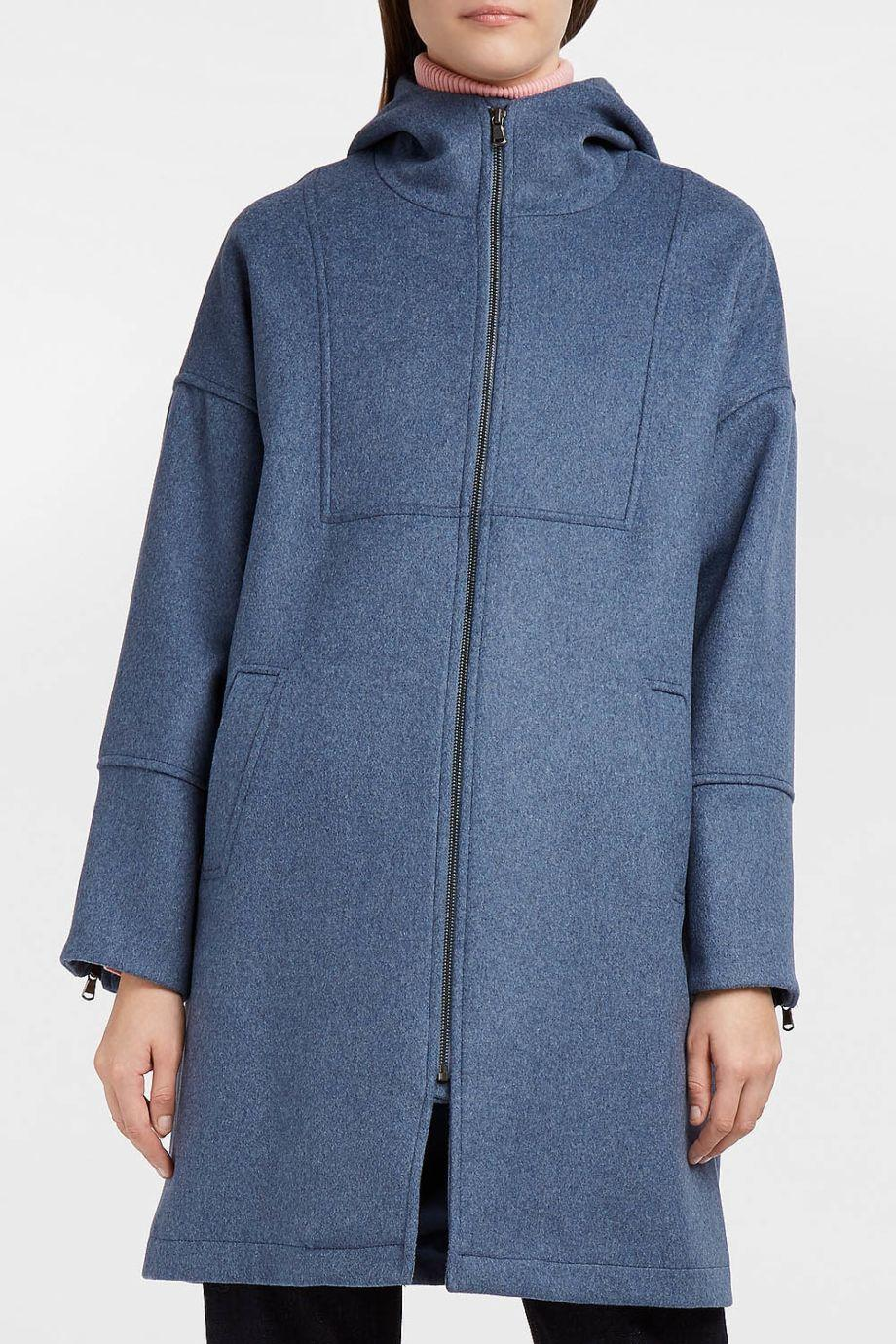 Paul & Joe Sister Bigbang Wool-Blend Felt Coat