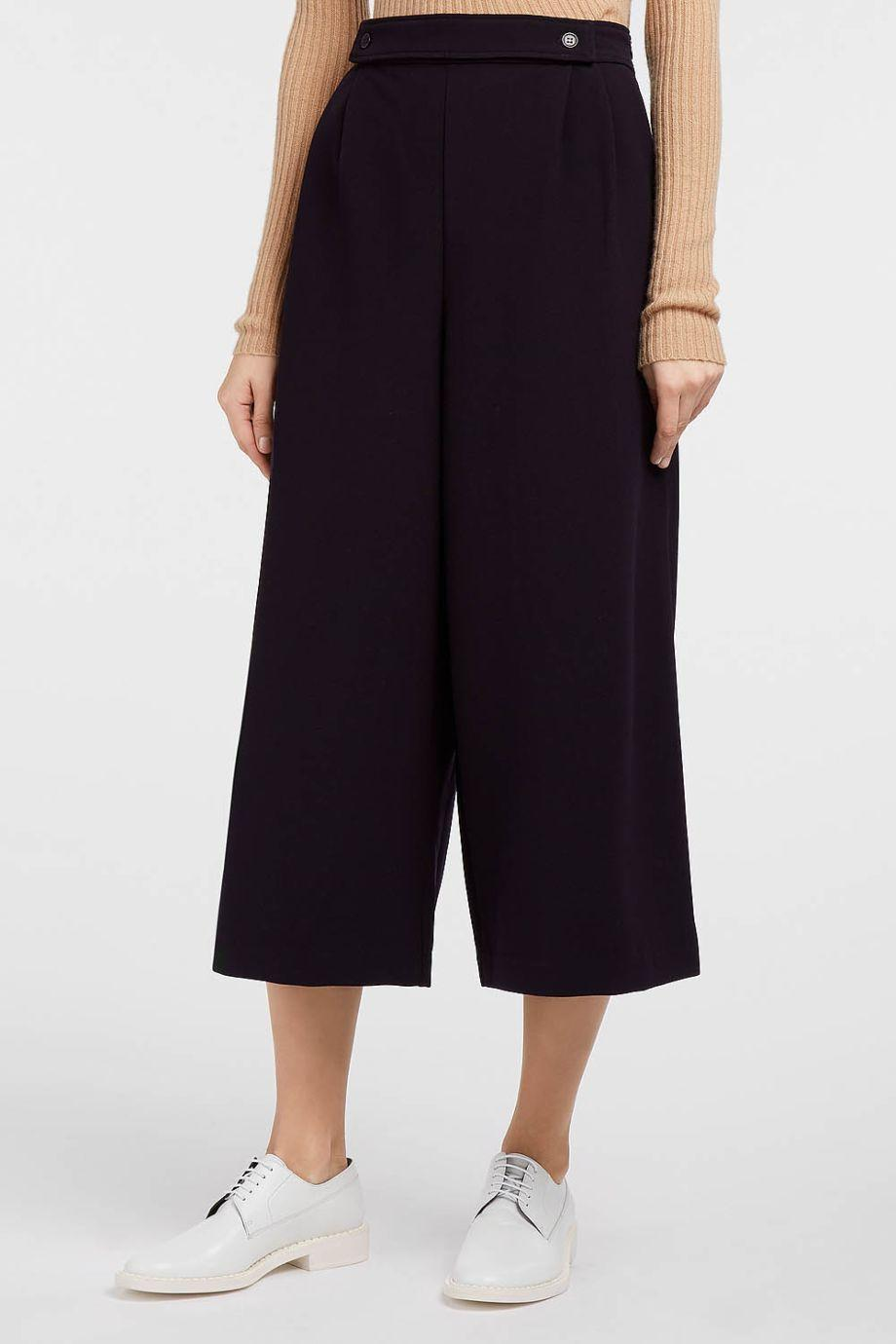 Paul & Joe Sister Auguste Stretch-Twill Culottes