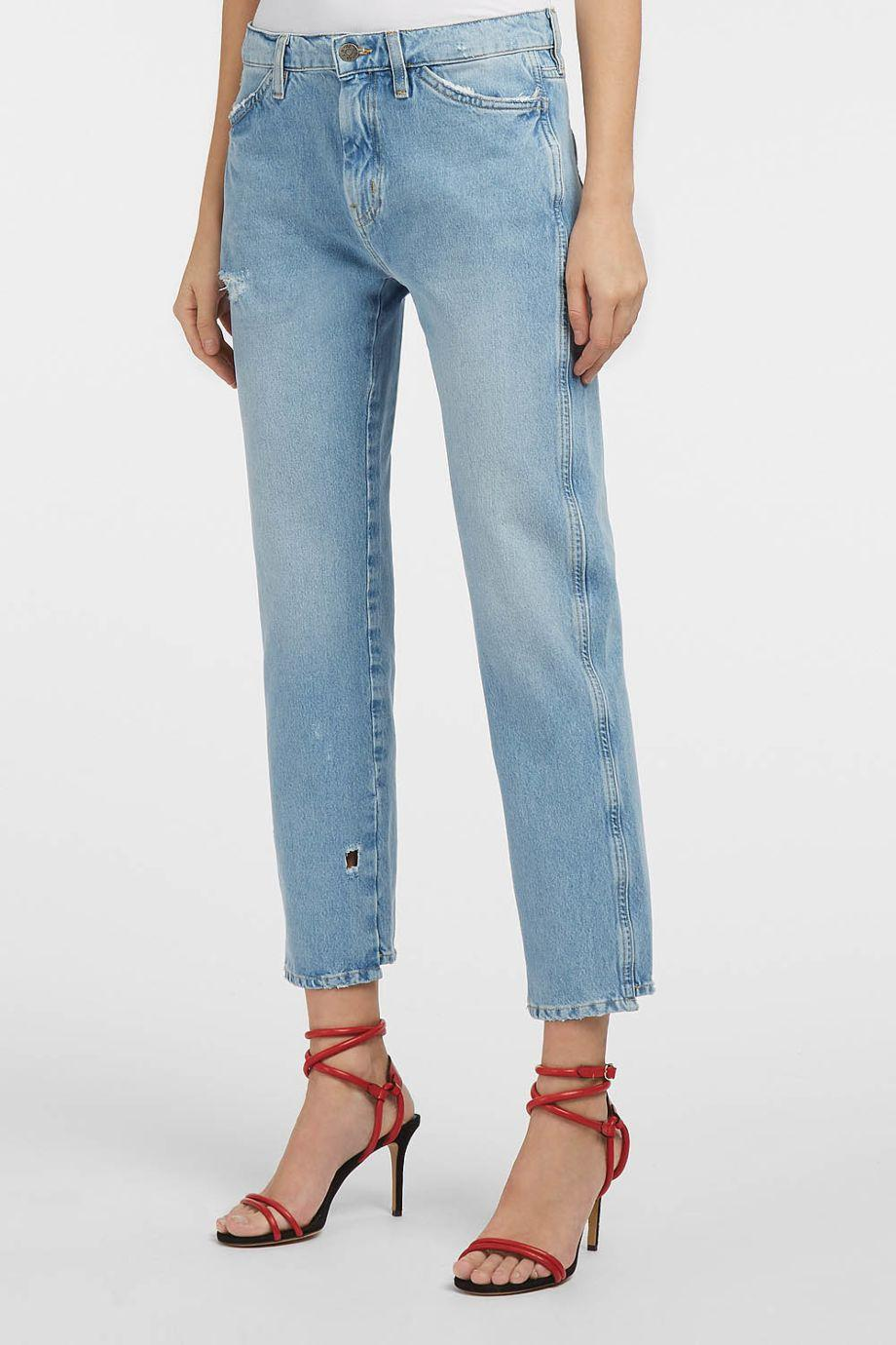 M.i.h Jeans Cult Distressed Straight-Leg Jeans