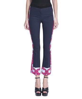 Versace  Viscose cropped pants