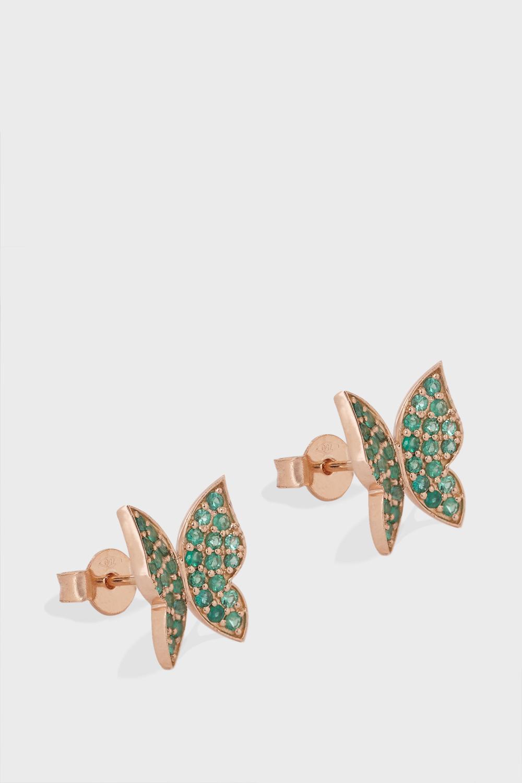 Butterfly Diamond Embellished Earrings