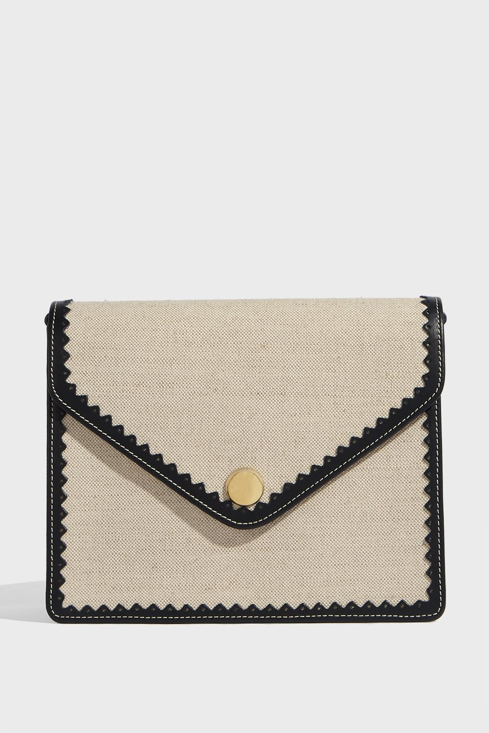 Paul & Joe Octave Mini Flap Canvas And Leather Bag