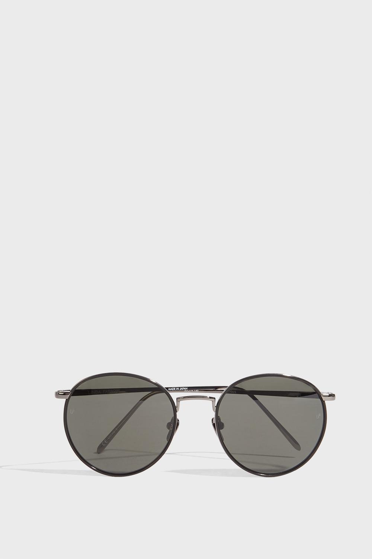 LINDA FARROW LUXE Round-Frame Acetate Sunglasses