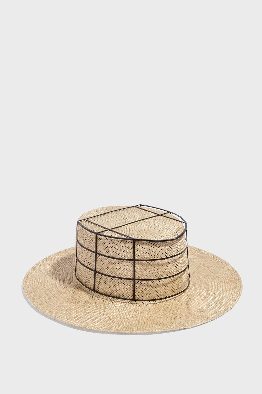 Janessa Leone LIARD CAGE HAT