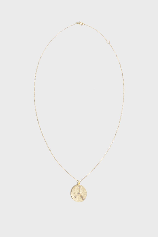 BROOKE GREGSON Cancer Diamond Necklace