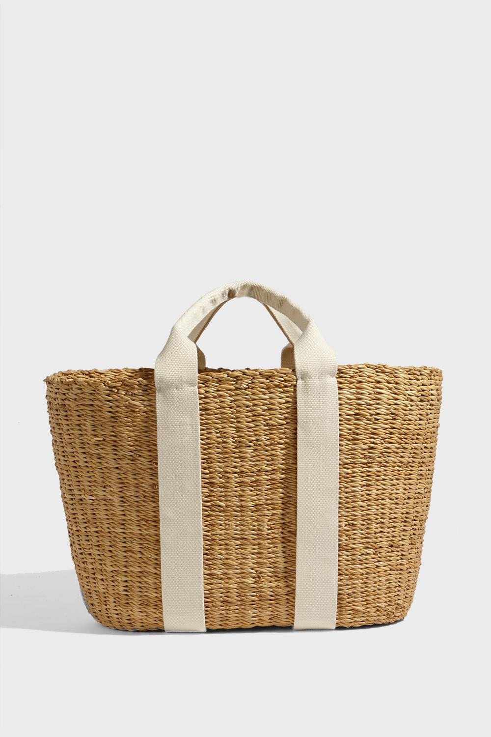 Caba Hand-Woven Straw Bag