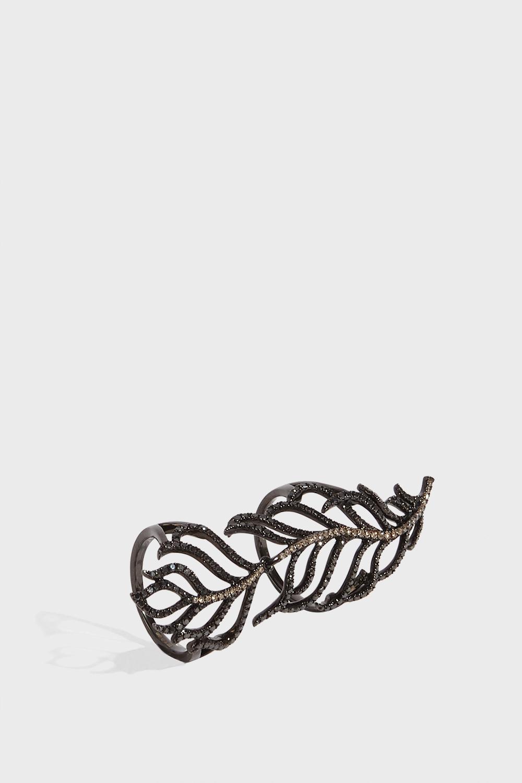 ROSA DE LA CRUZ Long Feather Ring