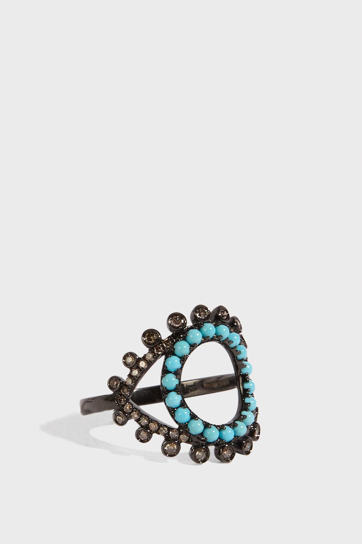 ROSA DE LA CRUZ Eye Ring