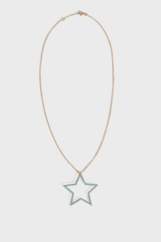 ROSA DE LA CRUZ Star Pendant Necklace