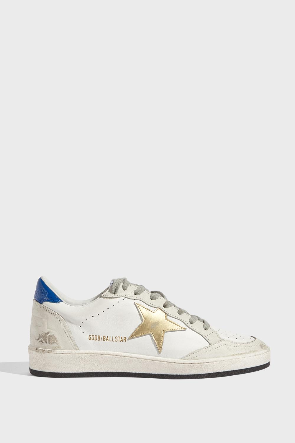 BALL STAR TRAINERS, SIZE IT39, WOMEN, WHITE