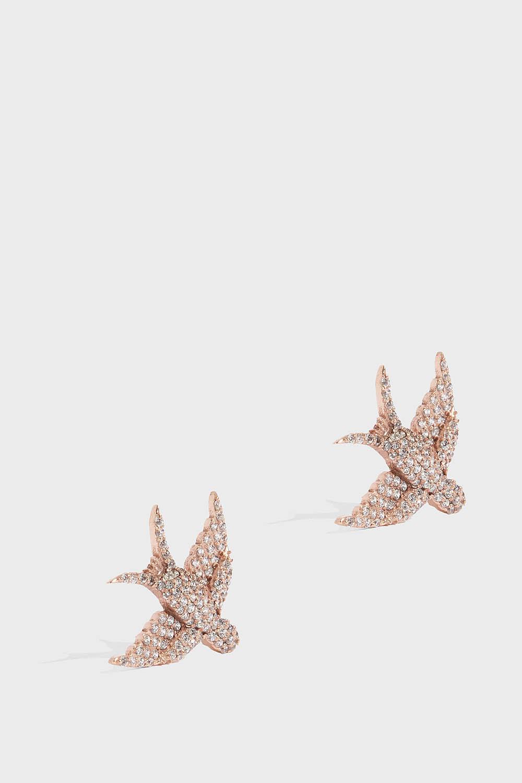 Petite Bird Earrings