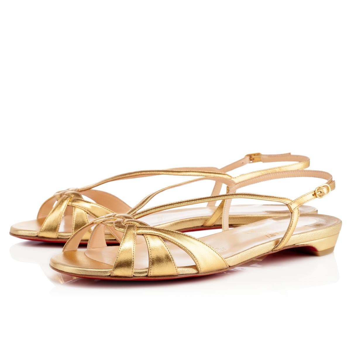 chris louboutin - Peony Design ? christian louboutin sandals flats