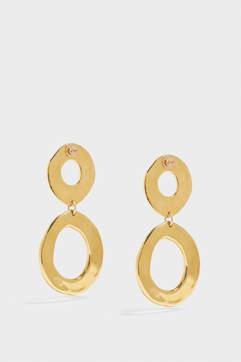 SONIA BOYAJIAN HOLIDAY GOLD-TONE EARRINGS, SIZE OS, WOMEN, Y GOLD