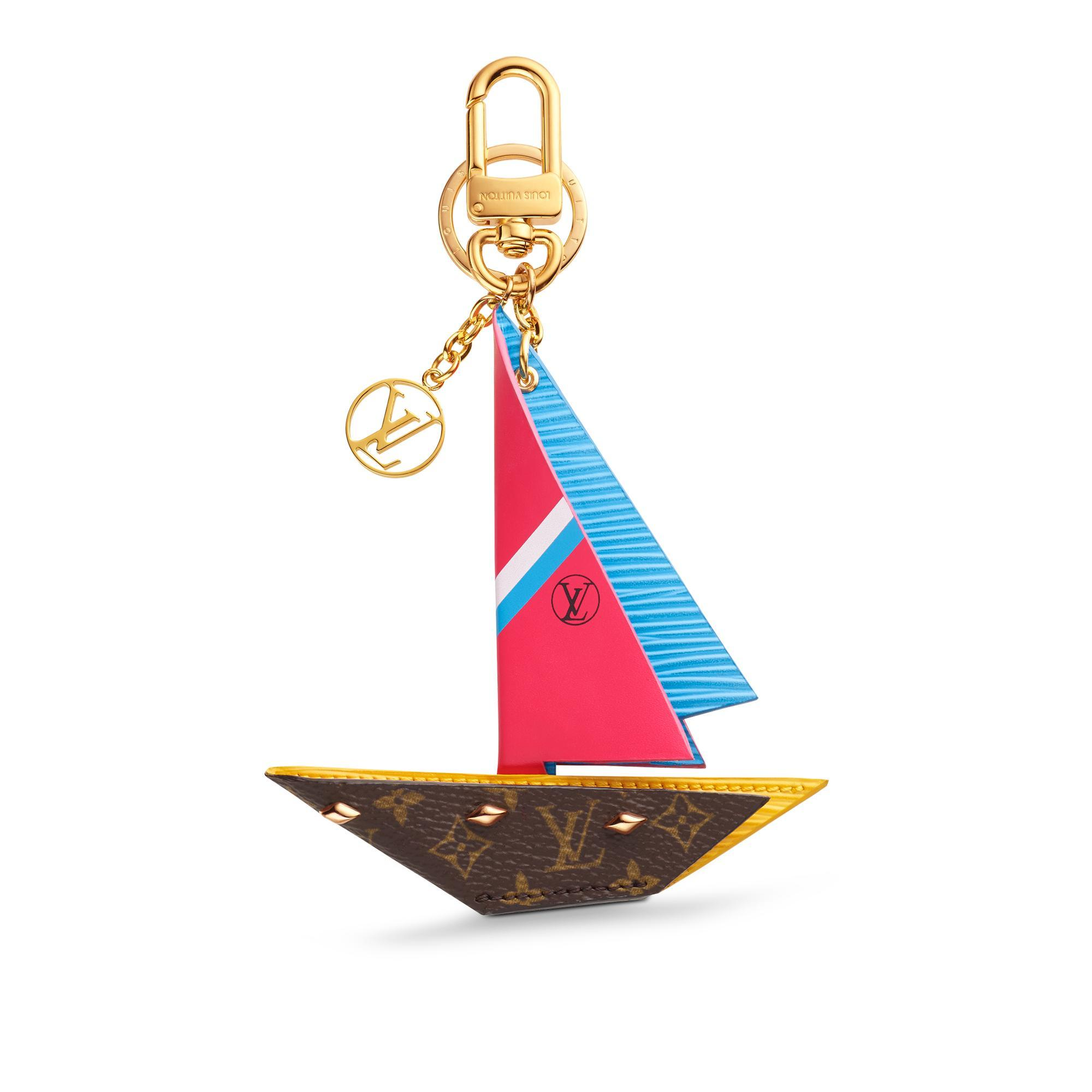 ROW YOUR BOAT BAG CHARM AND KEY HOLDER