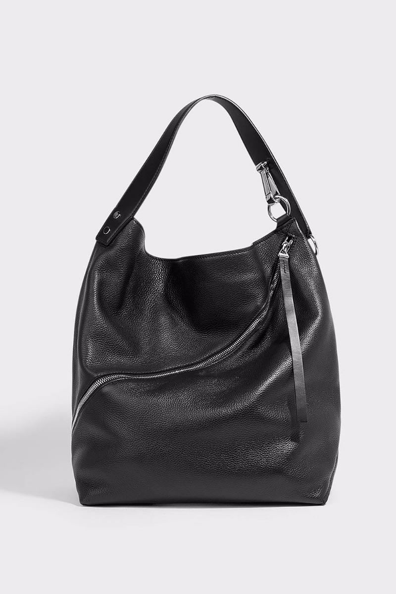 PROENZA SCHOULER HOBO LARGE TEXTURED-LEATHER TOTE, OS
