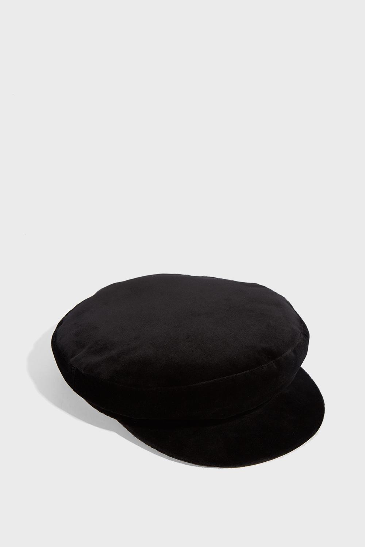 Janessa Leone MATTIE VELVET CAP