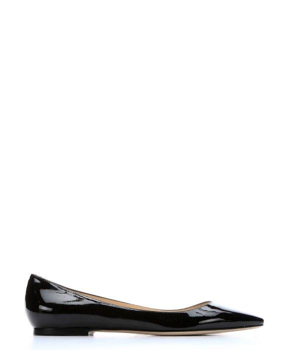 'Alina' Pointy Toe Leather Flat (Women)