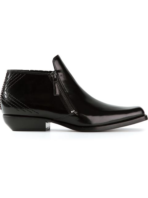 Polished Ankle Boots