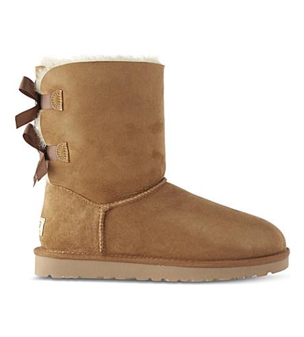 Bailey Bow Sheepskin Boots