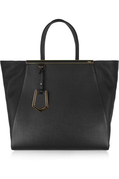 2JOURS LARGE TEXTURED-LEATHER SHOPPER