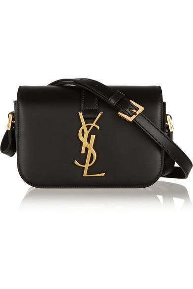 yves saint laurent monogram universite small leather shoulder bag