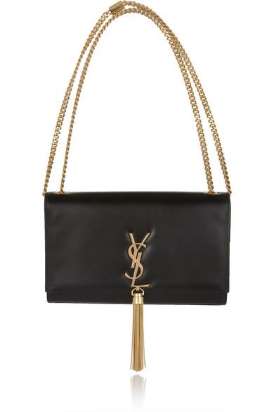 yves saint laurent pre ss16: saint laurent crossbody leather bag