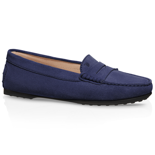 CITY GOMMINO SUEDE LOAFERS