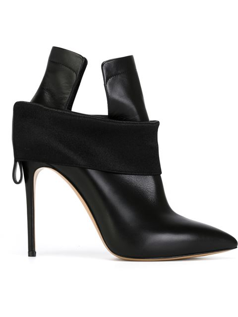 Banded Stiletto Heel Boots