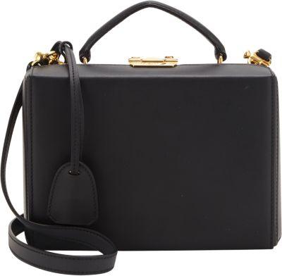 Grace Box Small Leather Crossbody Bag
