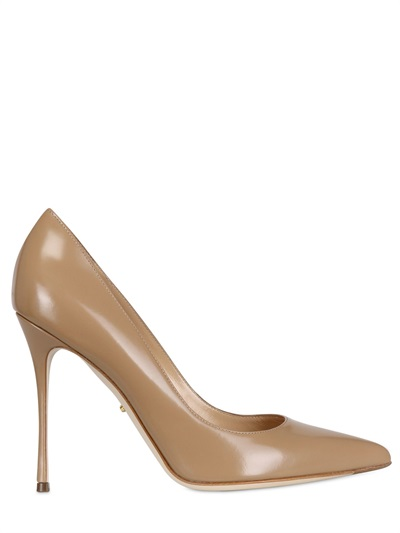 Godiva Leather Pointed Pumps