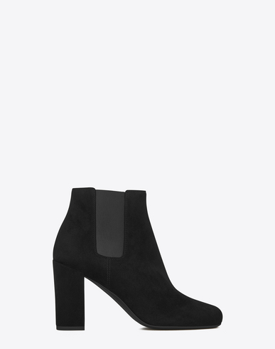 BABIES 90 CHELSEA ANKLE BOOT IN BLACK SUEDE