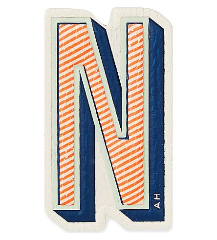 x Chaos Fashion 'N' alphabet leather sticker