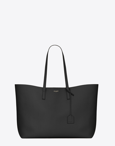 SHOPPING BAG SAINT LAURENT E/W IN EMBOSSED CROCODILE LEATHER