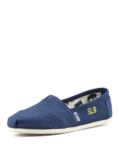 Personalized Classic Canvas Slip-On