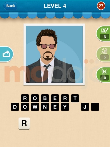 Celebrity Guess Level 21 - AnswersKey
