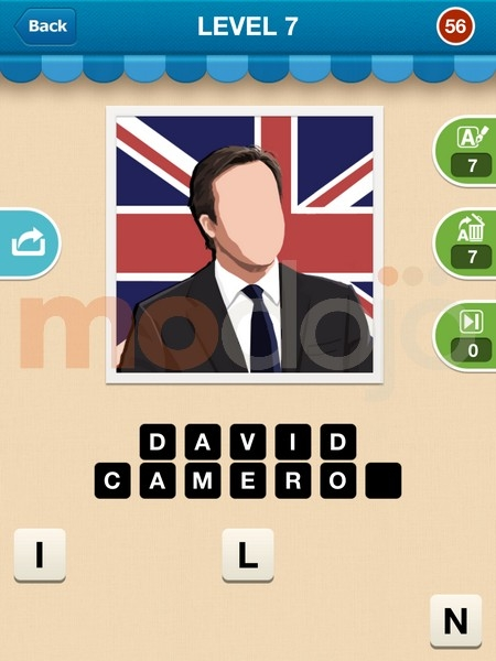 Celebrity Guess Level 57 - Game Solver