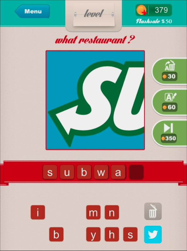 Restaurant ? - Level 10 subway