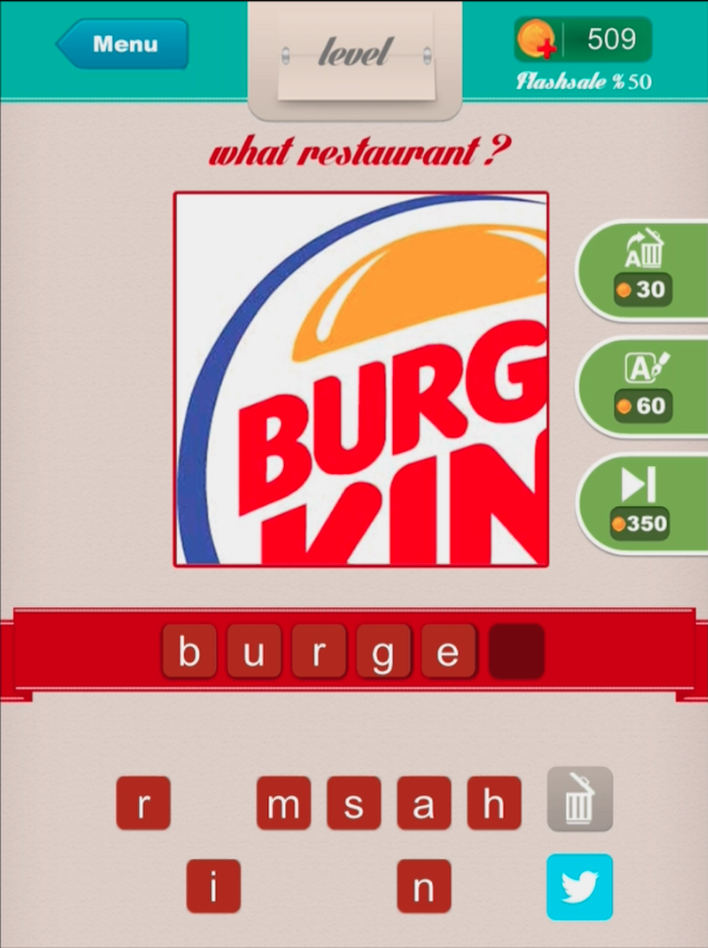 Restaurant ? - Level 2 burger