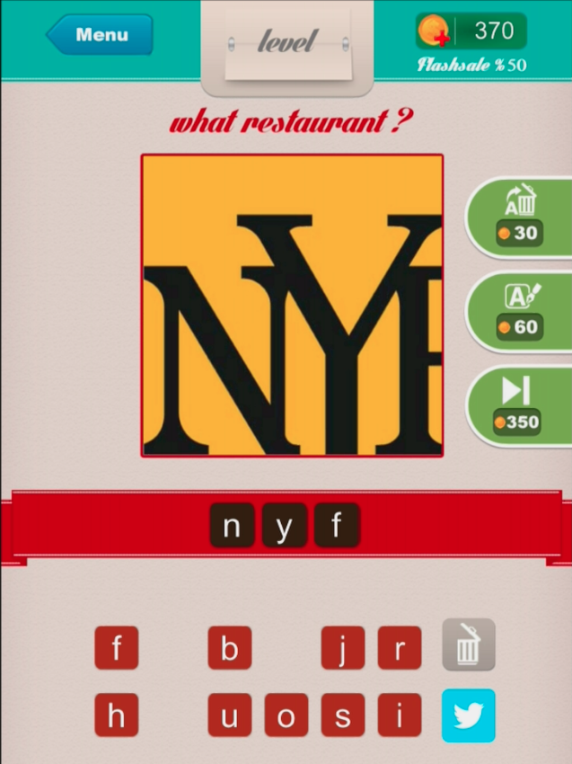 Restaurant ? - Level 8 nyf