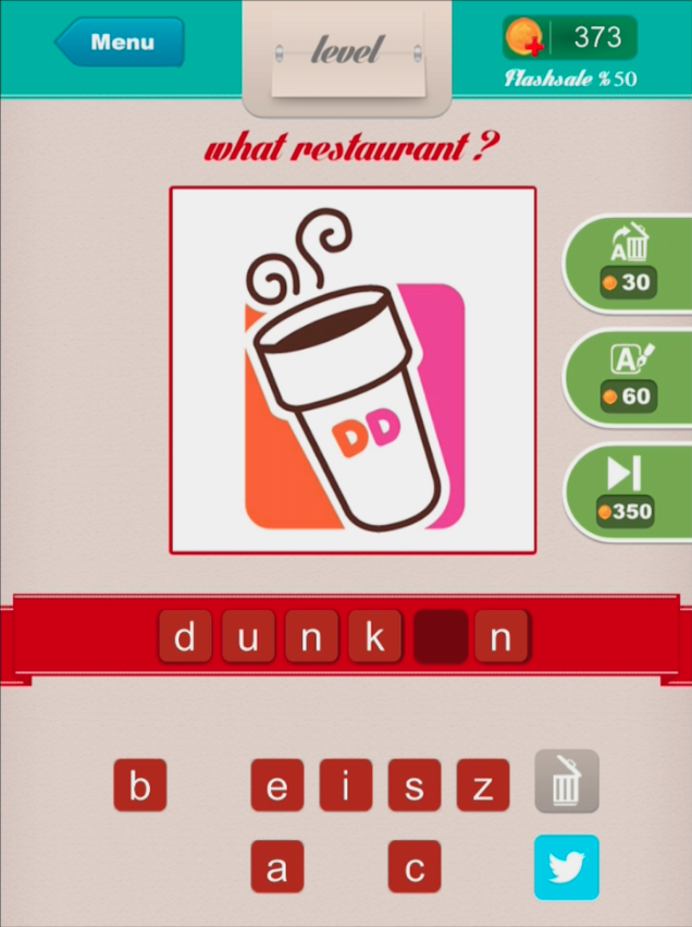 Restaurant ? - Level 9 dunkin
